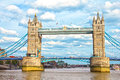 The tower bridge london uk Stock Photos