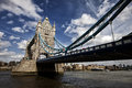 Tower bridge in london uk Royalty Free Stock Images