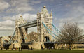 Tower bridge in london uk Royalty Free Stock Photography