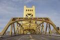 Tower Bridge at Sacramento Royalty Free Stock Photo