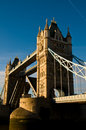 Tower Bridge - Tourist Attraction Stock Photos