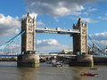 Tower Bridge, United Kingdom Royalty Free Stock Photo