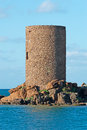 Tower in castelsardo frigiano sardinia Royalty Free Stock Image