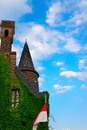 Tower of castle cochem imperial in Royalty Free Stock Photos