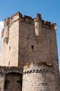 Tower of the castle of the dukes of alba in coria extremadura spain Stock Photos