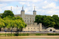 Tower Castle in London Stock Photos