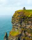 Tower on the Cliffs of Moher Stock Images