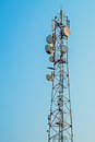 Tower of communications Royalty Free Stock Photo