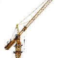 Tower crane. Royalty Free Stock Photo