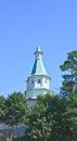 Tower of david house new jerusalem monastery moscow region the resurrection istra Royalty Free Stock Photos