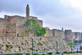 Tower of david jerusalem israel citadel in the old city Royalty Free Stock Photography