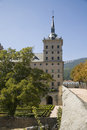 Tower of El Escorial palace Royalty Free Stock Photos