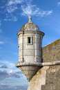Tower of the Fort in Lagos, Algarve, Portugal Royalty Free Stock Photo