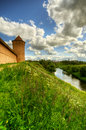 Tower and fortification Stock Photography