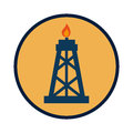 Tower industry isolated icon