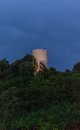 The tower in Kazimierz Dolny castle. Royalty Free Stock Photo