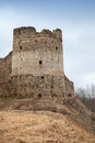 Tower of koporye fortress historic village in leningrad oblast russia Royalty Free Stock Image