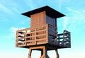 Tower lifeguard Royalty Free Stock Photo