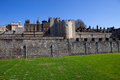 Tower of london the medieval castle and prison Royalty Free Stock Photography