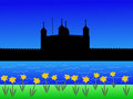 Tower of London in spring Royalty Free Stock Photos