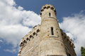 Tower of magdalena in rennes le chateau aude languedoc region france Royalty Free Stock Photography