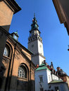 Tower in the monastery of Jasna Gora Stock Photo