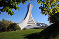 The tower of the Montreal Olympic Stadium Royalty Free Stock Image