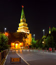 Tower in Moscow Kremlin Royalty Free Stock Image