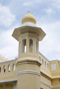 A tower near Southern entrance of Mysore palace Royalty Free Stock Images