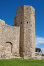 Tower of the nuns in old town tarragona spain Royalty Free Stock Image