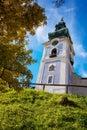 Tower of old castle in Banska Stiavnica, Slovakia