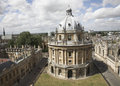 Tower in Old City of Oxford, England Royalty Free Stock Photography