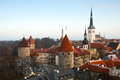 The tower of the old Tallinn Royalty Free Stock Image