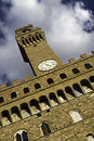 Tower at Piazza della Signoria, Florence Stock Photo