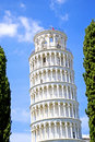 Tower of pisa historical monument the city italy Stock Photography