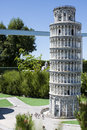 Tower Pisa Leaning Italy Mini Tiny Royalty Free Stock Photo