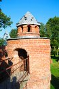 Tower from a red brick Stock Image