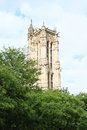 Tower Saint-Jacques Royalty Free Stock Photo
