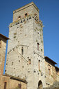 Tower in San Gimignano, Italy Royalty Free Stock Photos