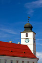 Tower in Sibiu Stock Images