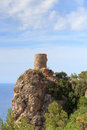Tower of souls in majorca spain Royalty Free Stock Photo