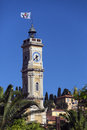 Tower of st francois nice french riviera the in the city on the in the south france Stock Images