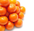 Tower from a tangerine,mandarin Royalty Free Stock Images