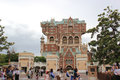 Tower of terror at tokyo disneysea japan may the twilight zone located american waterfront is an accelerated drop dark Stock Photo