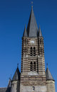 Tower of the thorn abbey in limburg holland Royalty Free Stock Photos