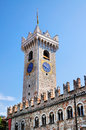 Tower torre civica belonging to palace palazzo pretorio trento city trentino alto adige sã dtirol italy Stock Photos