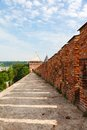 Tower and wall of the kremlin smolensk Stock Photos