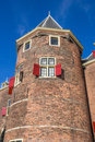 Tower of the weigh house in Amsterdam Royalty Free Stock Photo