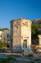 Tower of the Winds in Ancient Agora. Greece. Stock Images