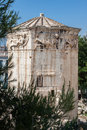 Tower of the Winds Athens Greece Royalty Free Stock Image